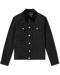 Alexander McQueen | Shredded Denim Jacket | Lyst