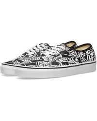 26183b053a On sale Vans - Off The Wall Printed Authentic - Lyst