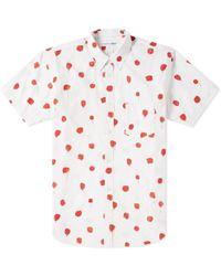 Comme des Garçons - Comme Des Garcons Shirt Short Sleeve Polka Dot Print Shirt - Lyst