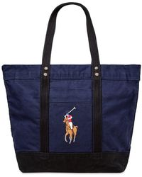 Polo Ralph Lauren - Canvas Big Pony Tote Bag - Lyst