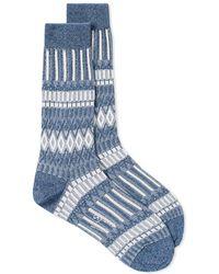Ayame Socks - Basket Lunch Solid Sock - Lyst