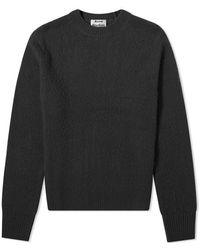 Acne Studios Peele Knit - Black