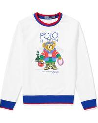 Polo Ralph Lauren - Hi-tec Bear Crew Sweat - Lyst