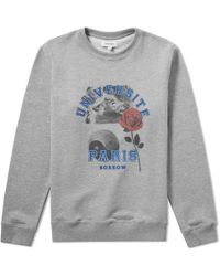 Soulland - University Paris Crew Sweat - Lyst