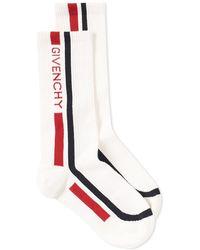 Givenchy - Logo Sock - Lyst