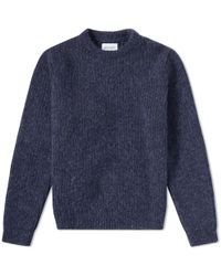 Norse Projects - Arild Brushed Alpaca Crew Knit - Lyst