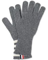 Thom Browne - Cashmere 4 Bar Glove - Lyst