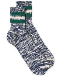 Anonymous Ism | 3 Line Slub Socks | Lyst
