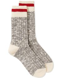 MAPLE - Heritage Speckle Ribbed Sock - Lyst