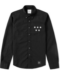 Uniform Experiment - 5 Star Applique Shirt - Lyst
