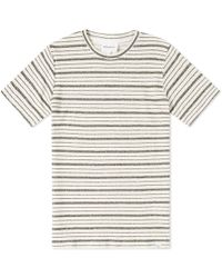 Norse Projects - Niels Texture Stripe Tee - Lyst