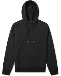 5368b7f17bc Dior Homme - All Over Embroidered Bee Popover Hoody - Lyst