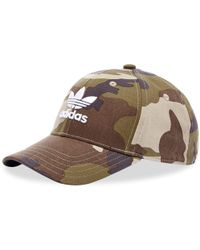 87ebbf16b39a5 adidas Camo Baseball Cap in Green for Men - Lyst