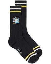 KENZO - Tiger Head Sock - Lyst
