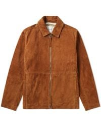 Norse Projects - Elliot Suede Jacket - Lyst