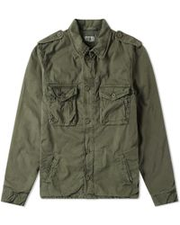 Hartford - Jonah Military Jacket - Lyst