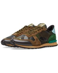 Valentino - Rockrunner Sneaker - Lyst