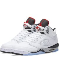 5b69f042d3d733 Lyst - Nike Retro 5 Jordan - Men s Nike Retro 5 Jordan Sneakers
