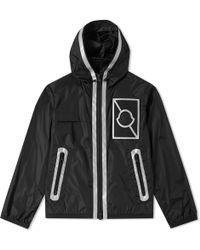 3838dd0bed04 Moncler Reflective-stripe Down Jacket in Brown for Men - Lyst