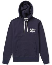 Saturdays NYC - Saturdays Ditch Miller Chest Logo Hoody - Lyst