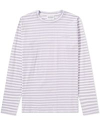 Norse Projects - Long Sleeve James Logo Stripetee - Lyst
