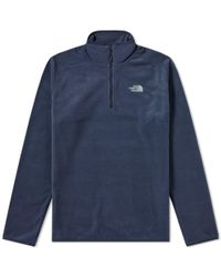 The North Face - 100 Glacier Quarter Zip Jacket - Lyst