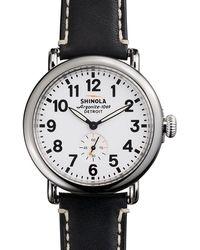 Shinola - Runwell 41mm Watch - Lyst