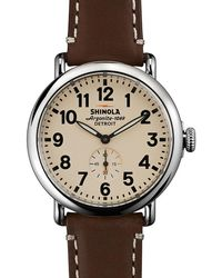 Shinola - 41mm Runwell Mens Watch - Lyst