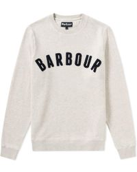 Barbour - Prep Logo Crew Sweat - Lyst