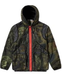 Givenchy - Dollar Camo Hooded Jacket - Lyst