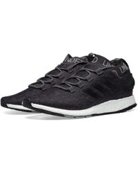 52285e1a7f57e adidas By Stella McCartney Pure Boost Trainer in Black for Men - Lyst