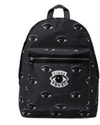 KENZO - Black Eye Backpack - Lyst