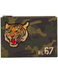 11edc155eb Lyst - Polo Ralph Lauren Military Nylon Shave Kit in Black for Men