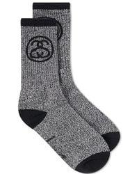 Stussy - Ss Link Sock - Lyst