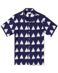 Universal Works - Short Sleeve Road Shirt - Lyst