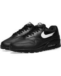 b5f35b09239 Nike Air Max 95 Ultra Essential in Black for Men - Lyst