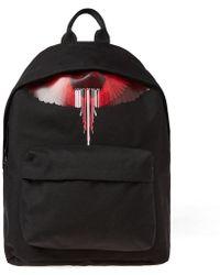 Marcelo Burlon - Wings Barcode Logo Backpack - Lyst