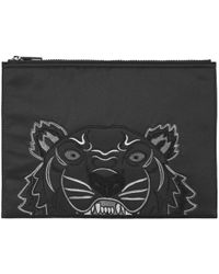 KENZO - Tiger A4 Pouch - Lyst