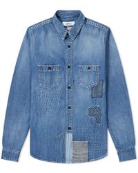 FDMTL - Denim Shirt - Lyst