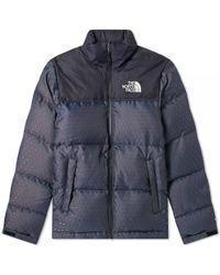 The North Face - 1996 Engineered Jacquard Nuptse Jacket - Lyst