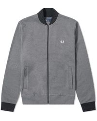 Fred Perry Authentic - Bomber Track Jacket - Lyst