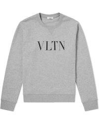 Valentino - Vltn Print Sweatshirt - Lyst