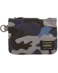 Head Porter - Jungle Camo Zip Wallet - Lyst