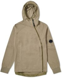 C P Company - Articulated Zip Arm Lens Pullover Hoody - Lyst