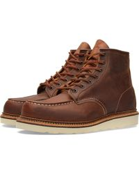 "Red Wing - 1907 Heritage Work 6"" Moc Toe Boot - Lyst"