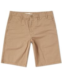 Norse Projects - Aros Light Twill Short - Lyst