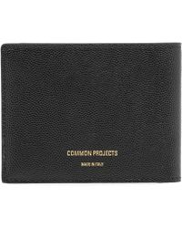 Common Projects - Grain Leather Standard Wallet - Lyst