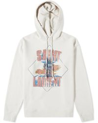 8e4baf426 Saint Laurent Camouflage Zip-through Hoodie in Gray for Men - Lyst