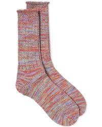 Anonymous Ism - 5 Colour Mix Crew Sock - Lyst