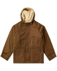 Gosha Rubchinskiy - Wool Army Duffle Coat - Lyst